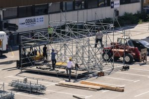 Stage Construction
