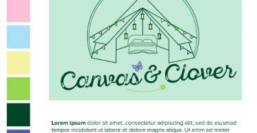 Canvas and Clover Logo