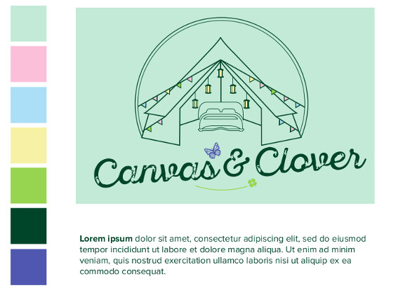 Canvas and Clover Logo