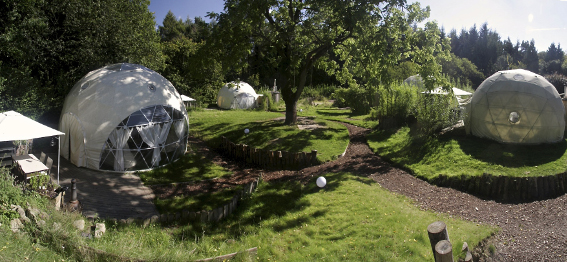 The Dome Garden panorama