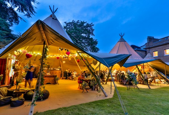 A giant Nordic tent from Tentipi