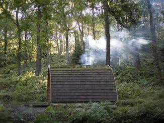 Campsite Pod in the Lake District