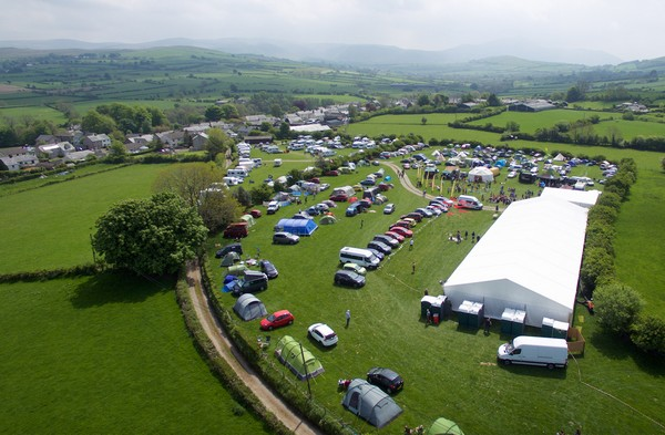 Ireby Festival birds eye view