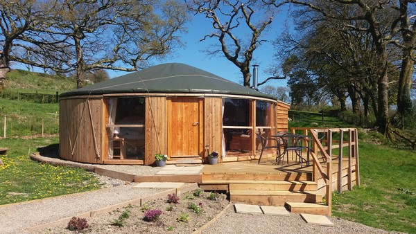 Fron Farm Yurts
