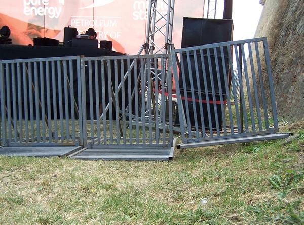 Wonky fence