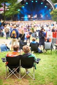 People attending fest
