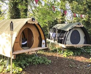 Landpod off-grid pods