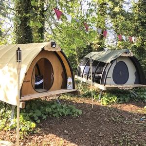 Landpod off-grid pods