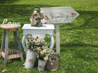 Wedding day decorations