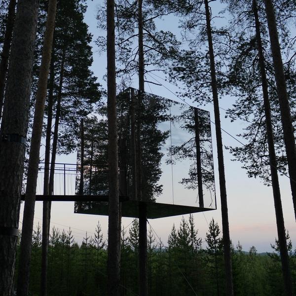 TreeHotel Mirrorcube, Sweden
