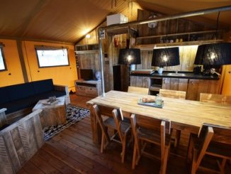 Rustic glamping furniture packages from Clear Sky