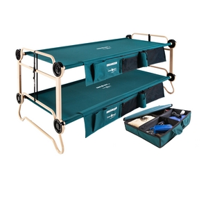 Disc-O-Bed's collapsible bunk beds
