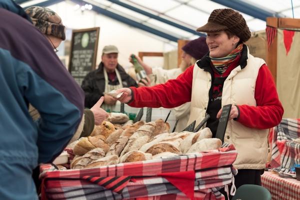 Rosemore selling bread