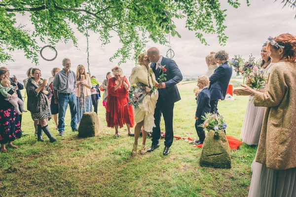 Huntstile outdoor wedding event