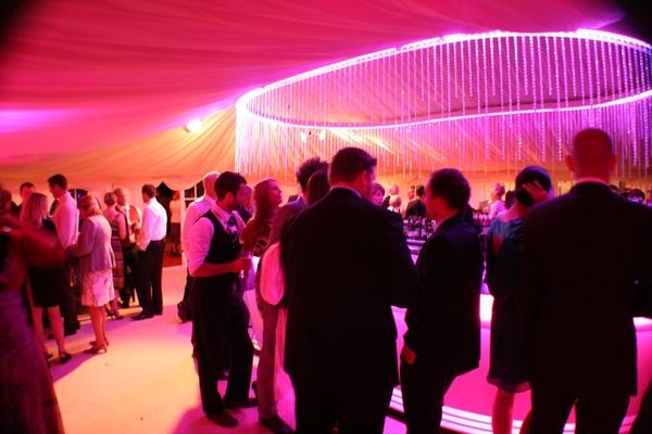 Version Events event lighting pink