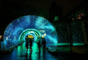 Tunnel of Light from Blachere Illumination