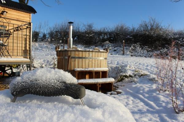 Fair Farm Hideaway snow