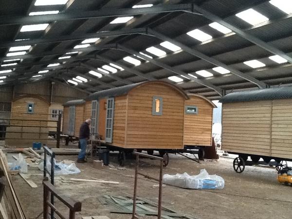 Fair Farm Hideaway glamping units