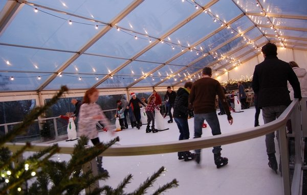 Riverhill ice skating at Christmas event
