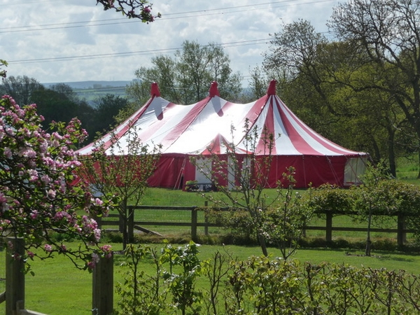 Church Farm Big Top marquee