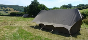 Albion Canvas Boldscan Kora mini safari tent