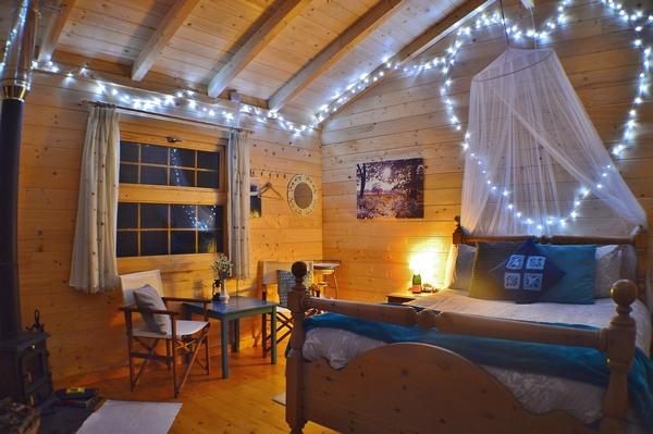 Glampsite bedroom