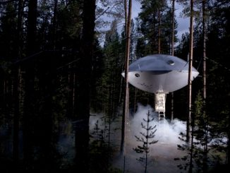 The UFO at Treehouse Hotel, Sweden