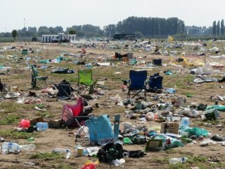 Festivals ban single use plastic