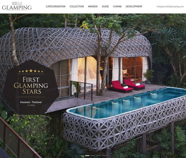 World of Glamping Classification