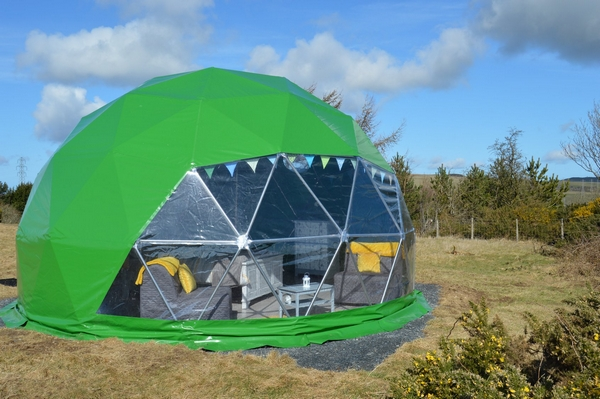 Trudomes Glamping Dome