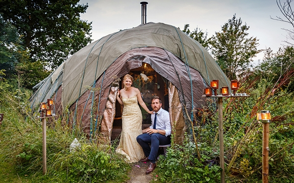 Fire Pit Camp weddings