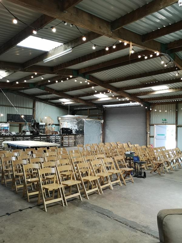 Fire Pit warehouse venue