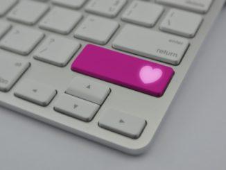 keyboard heart