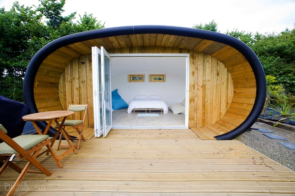 Atlantic Highway glampsite glamping pod