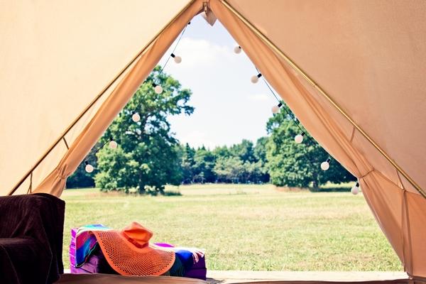 Camp Katur bell tent