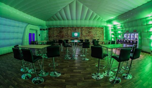 Dome bar interior