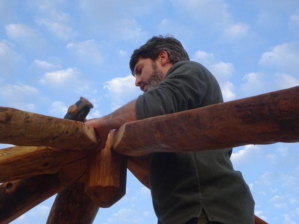 Man building (Wild Hart)