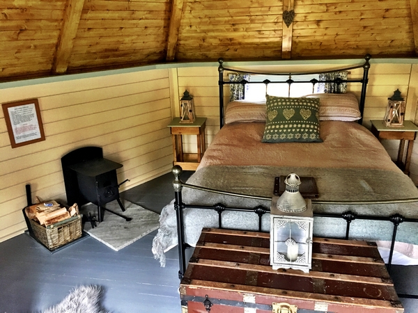 Inside Logspan Cabin