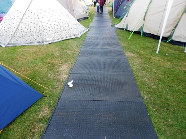 GT Trax walkover mat