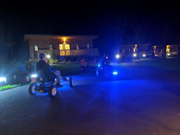 Kart-fit go karts at the OAB Gathering