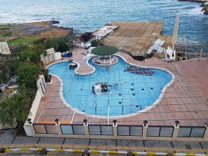 Conversion of pool in Cyprus