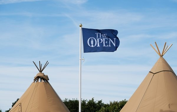 Flag at The Open