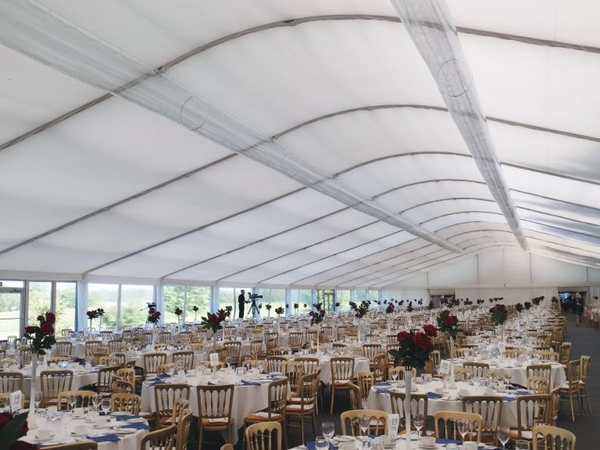 Wilson climate control in event marquee