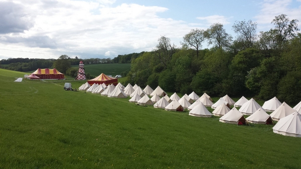 Bell tents for hire or sale