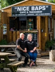 """Nice Baps"" cafe and takeaway restaurant"
