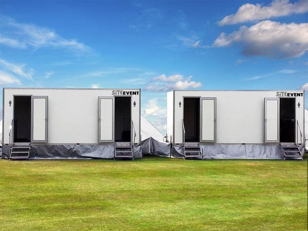 Site Equip portable toilet cabins
