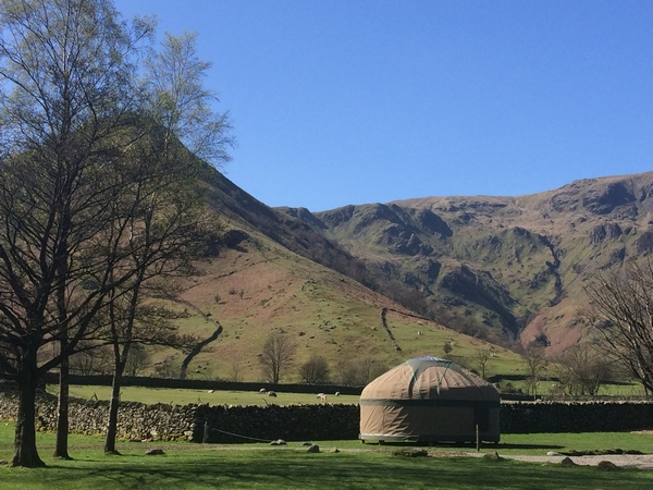 Yurt in the hills