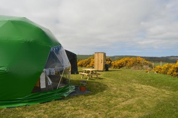 Green Trudomes dome