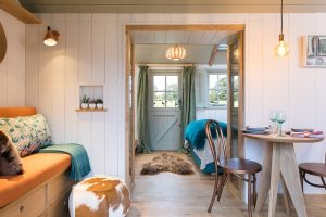 Dimsey hut interior