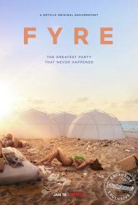 Fyre festival documentary poster